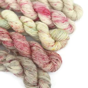 Rosebud Bath Bomb Mini Skein Sock Set