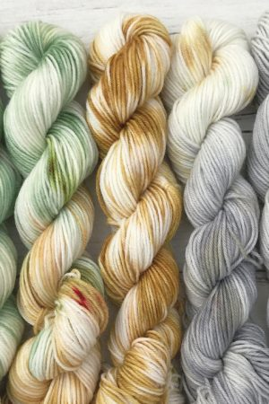 First Frost Superwash Merino Mini Skein Set
