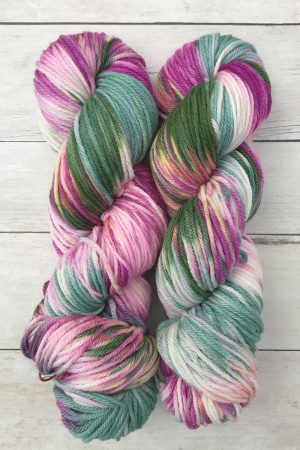 Flowering Kale Washable Hand Dyed Yarn
