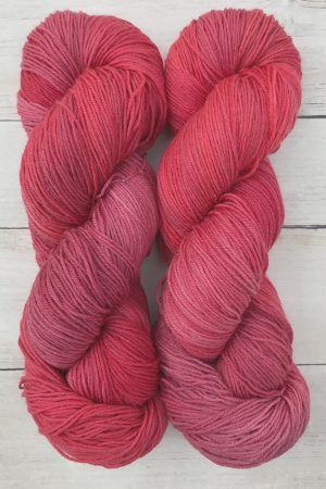 Holly Berry Superwash Merino Sock Yarn