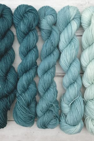 Blue Spruce Washable Mini Skein Set
