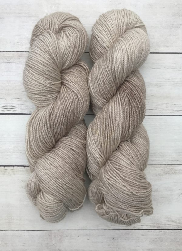 Weathered Wood High Twist BFL Sock Yarn