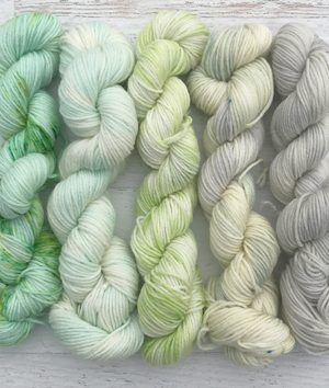 April Showers Superwash Mini Skein Sock Set
