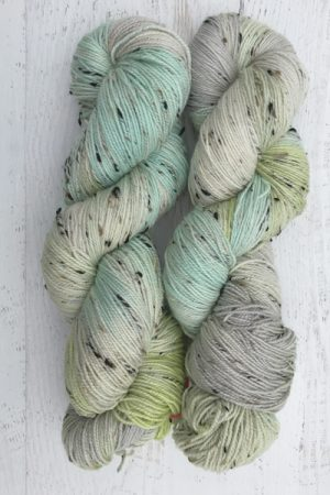 April Showers Tweed Sock Weight Yarn