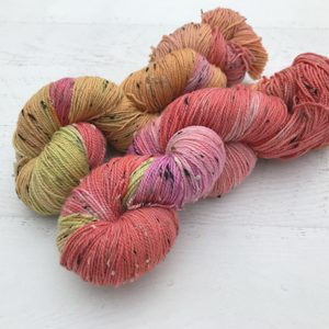 Design Your Custom Tweed Sock Yarn Three Skein Set