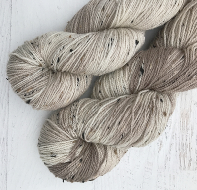 Build Your Own Tweed Sock Weight Yarn Two Skein Set