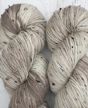 Organic Mushrooms Tweed Sock Weight Superwash Yarn