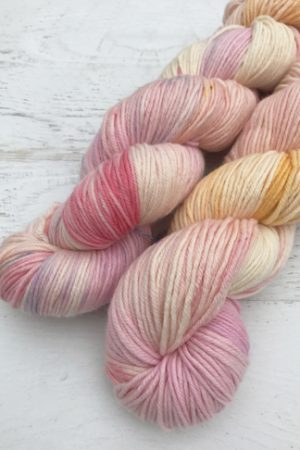 Washable Hand Dyed DK Weight Yarn - Double Skein Set