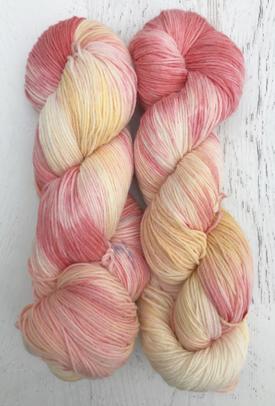White Cherries Alpaca/Merino/Nylon Sock Yarn